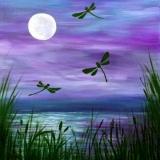 Night-Lake-w-Moon