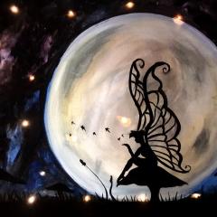 Moonlit Lighted Fairy II