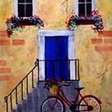 Bicycle and Blue Doo