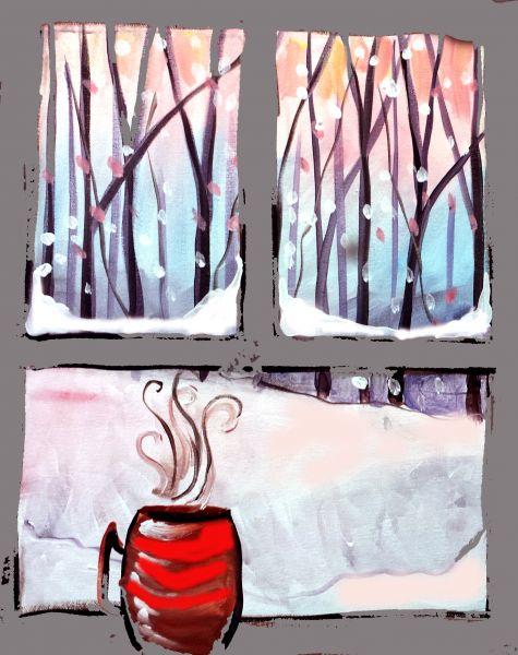 coffee with cardinal