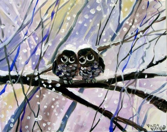 Owlets in Winter