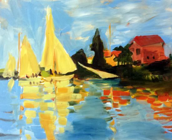 Monet's Summer Regatta