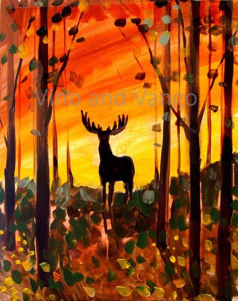 autumn-deer