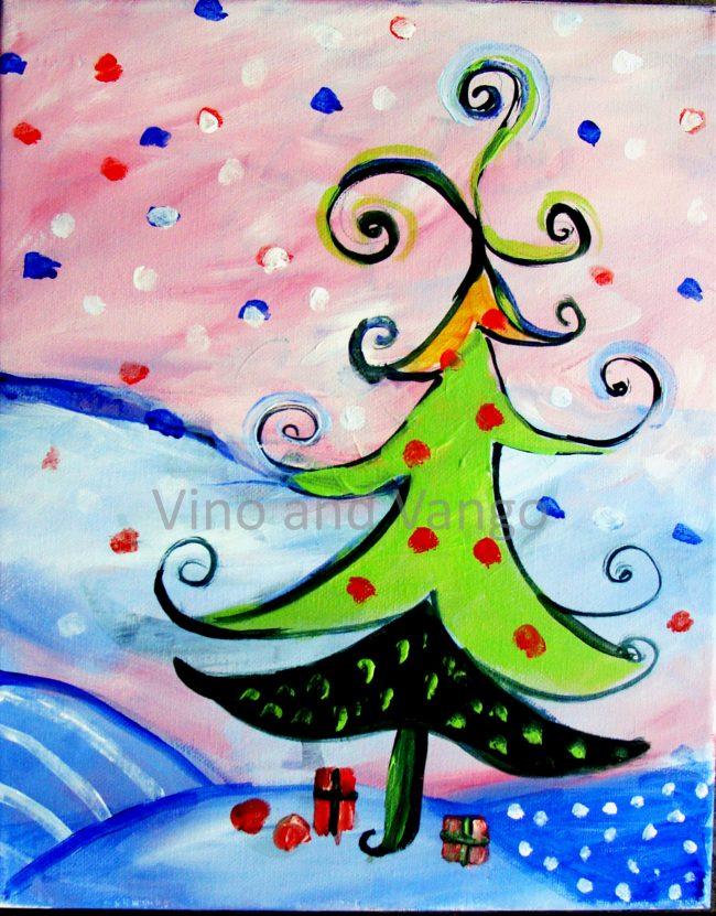 Jolly Holly Folly Christmas Tree