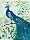 New Peacock blue watermark