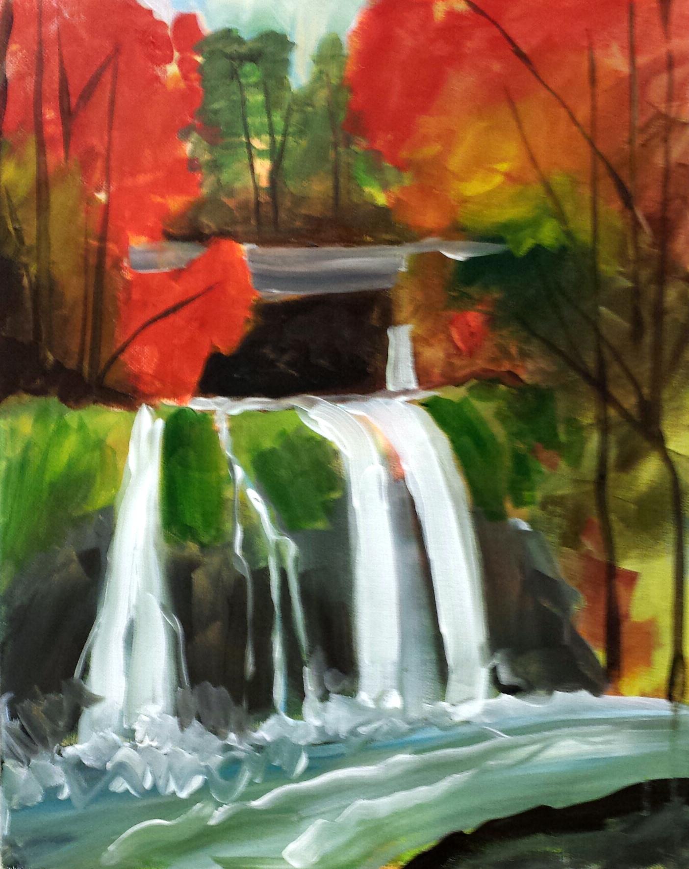 Waterfall in Fall copy