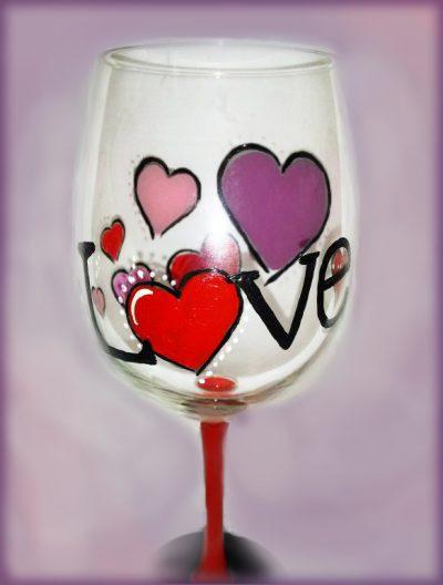 wine glass solo