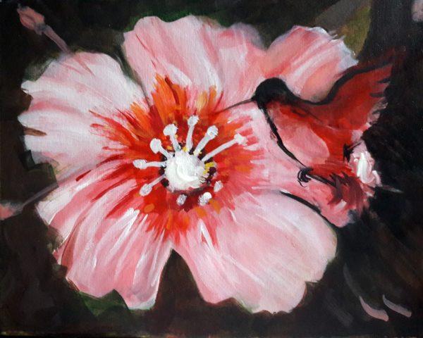 Hibicus and Hummingbird II