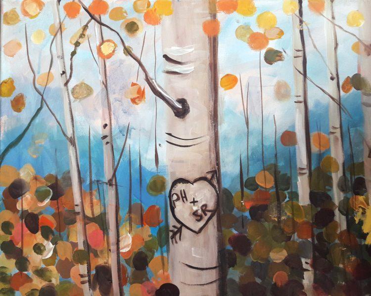 Autumn Birch Couples